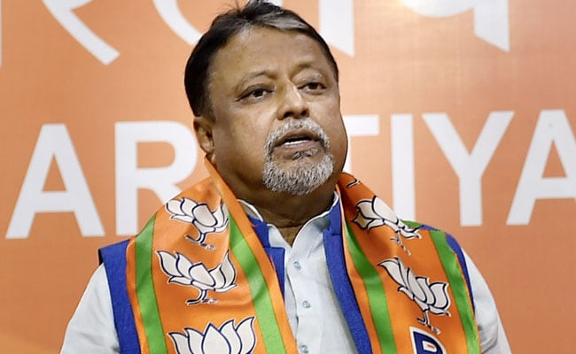 BJP's Mukul Roy Discussed Influencing Poll Body On Leaked Call: Trinamool