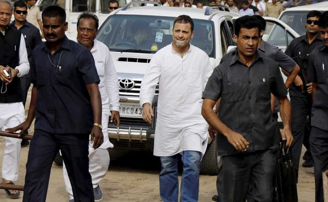 Rahul Gandhi Used Non-Bullet Resistant, Non-SPG Car 1,892 Times: Sources 1