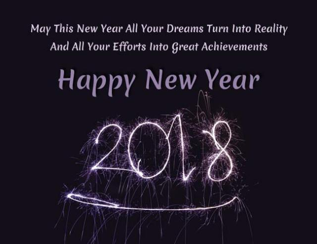 Happy New Year 2018: Wishes, SMS, Images And WhatsApp Messages For Family And Friends