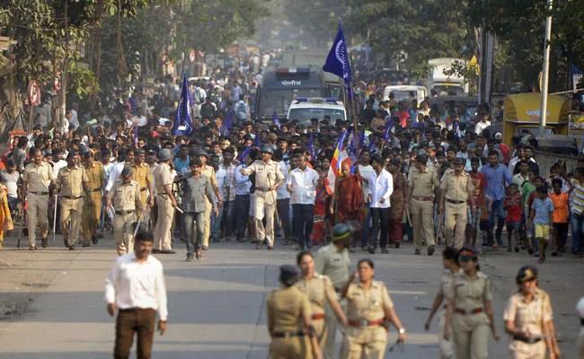 bhima koregaon dalit rally pti