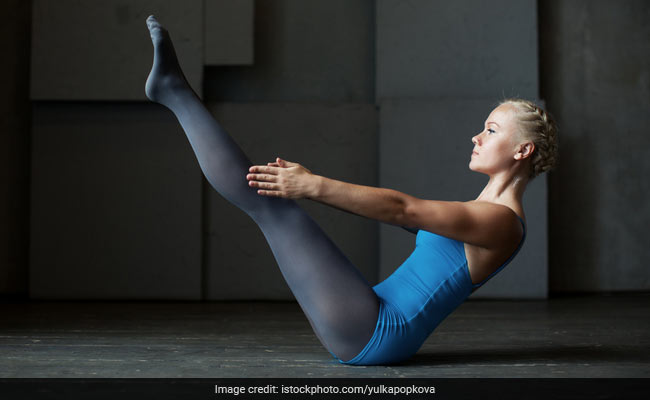 boat pose for abs