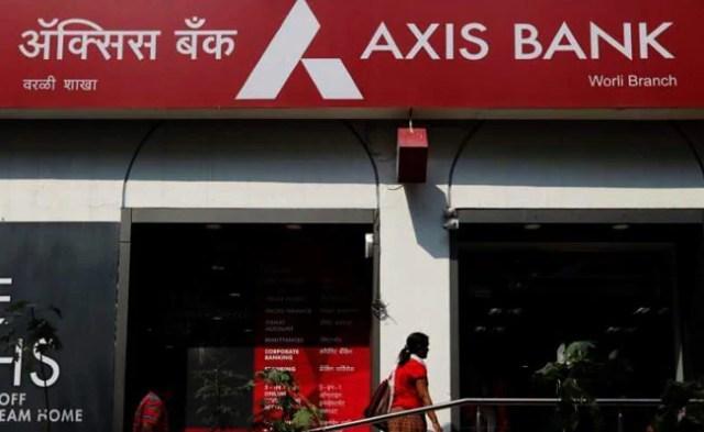 एक्सिस बैंक शेयरों में 8% से अधिक की एसेट क्वालिटी में सुधार करता है