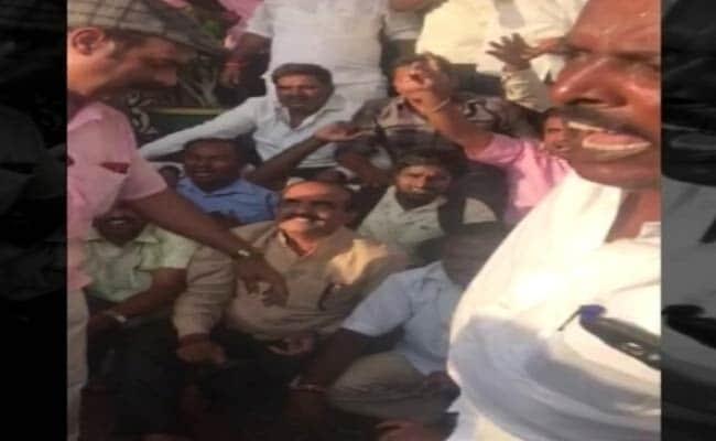 bjp protests karnataka