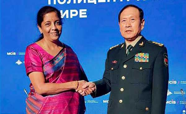 Nirmala Sitharaman Meets Chinese Defence Minister In Moscow