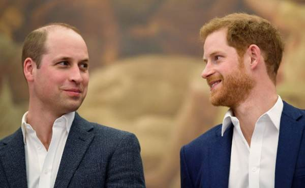 Britain's Prince William Will Be Brother Prince Harry's ...
