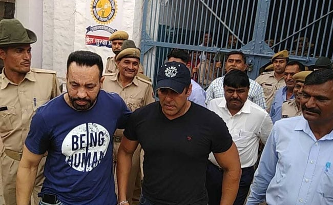Salman Khan Back In Mumbai After Spending 2 Nights In Jodhpur Jail ...