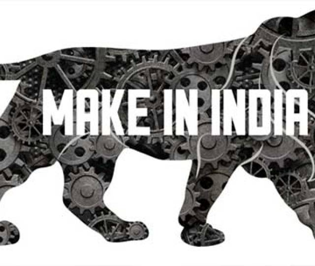 Make In Indias Symbol Is A Lion Made Of Cogs