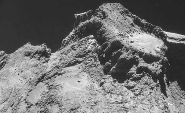 Philae Lander Space Agency Releases First Picture From Comet