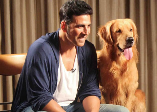 Image result for akshay kumar dog