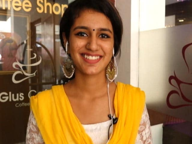 Priya Varrier Finds A Chance To Act In Tollywood