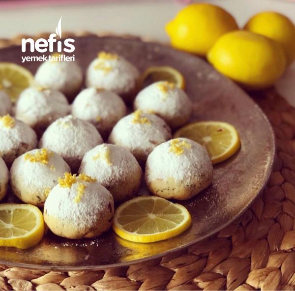 Limonlu Fındıklı Kolay Kurabiye