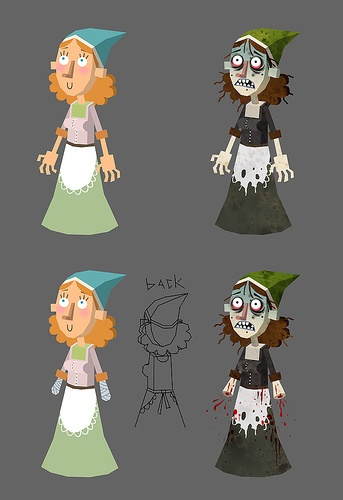 American McGees Grimm The Girl Without Hands Concept Art