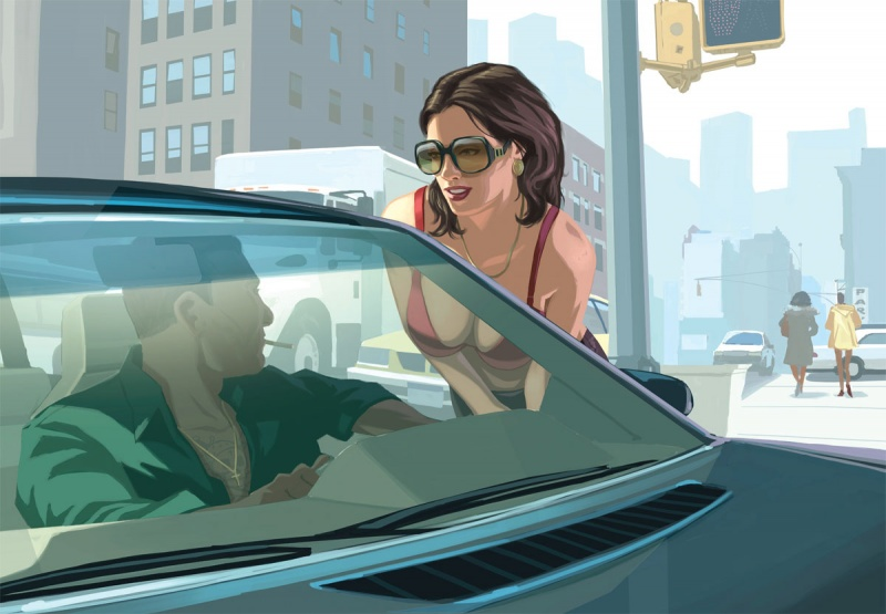 Grand Theft Auto IV Concept Art