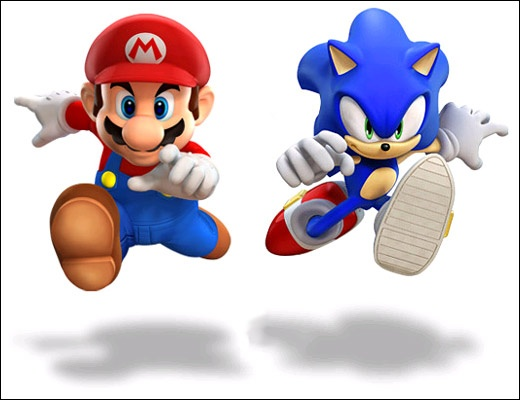 Mario Amp Sonic At The Olympic Games Concept Art