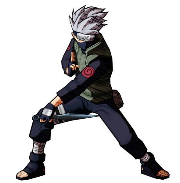 Naruto Ultimate Ninja Concept Art