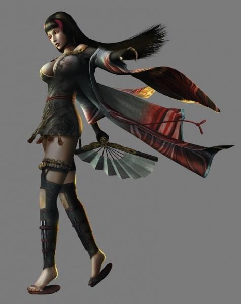 Tenchu Shadow Assassins Concept Art