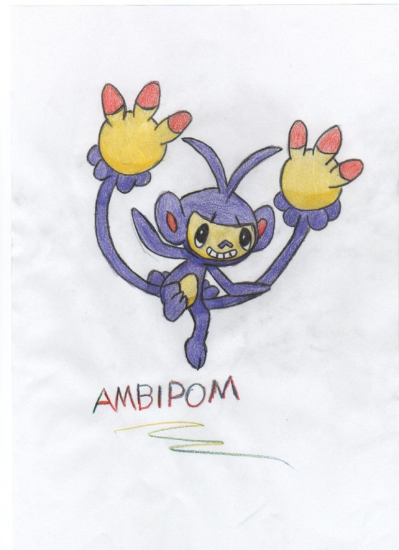 Ambipom Pokmon Fanart