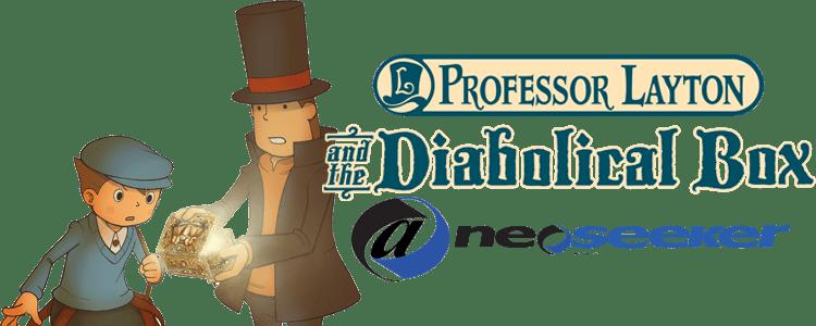 Layton Puzzle Box Diabolical Professor
