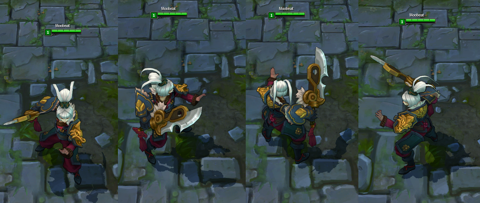 Dragonblade Riven Is A Total Badass In New League Of