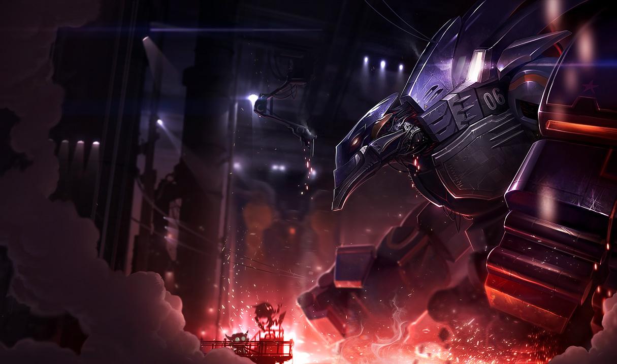 League Of Legends Loves Robots New Mecha Aatrox And Mecha