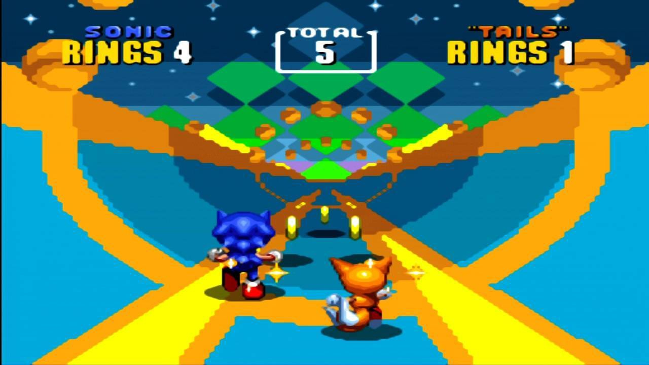 3D Sonic The Hedgehog 2 Features Local Co Op Multiplayer