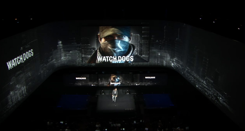 'Watch Dogs' Playstation Meeting 2013