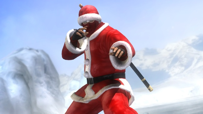 Dead Or Alive 5 Christmas DLC Includes Santa Outfits