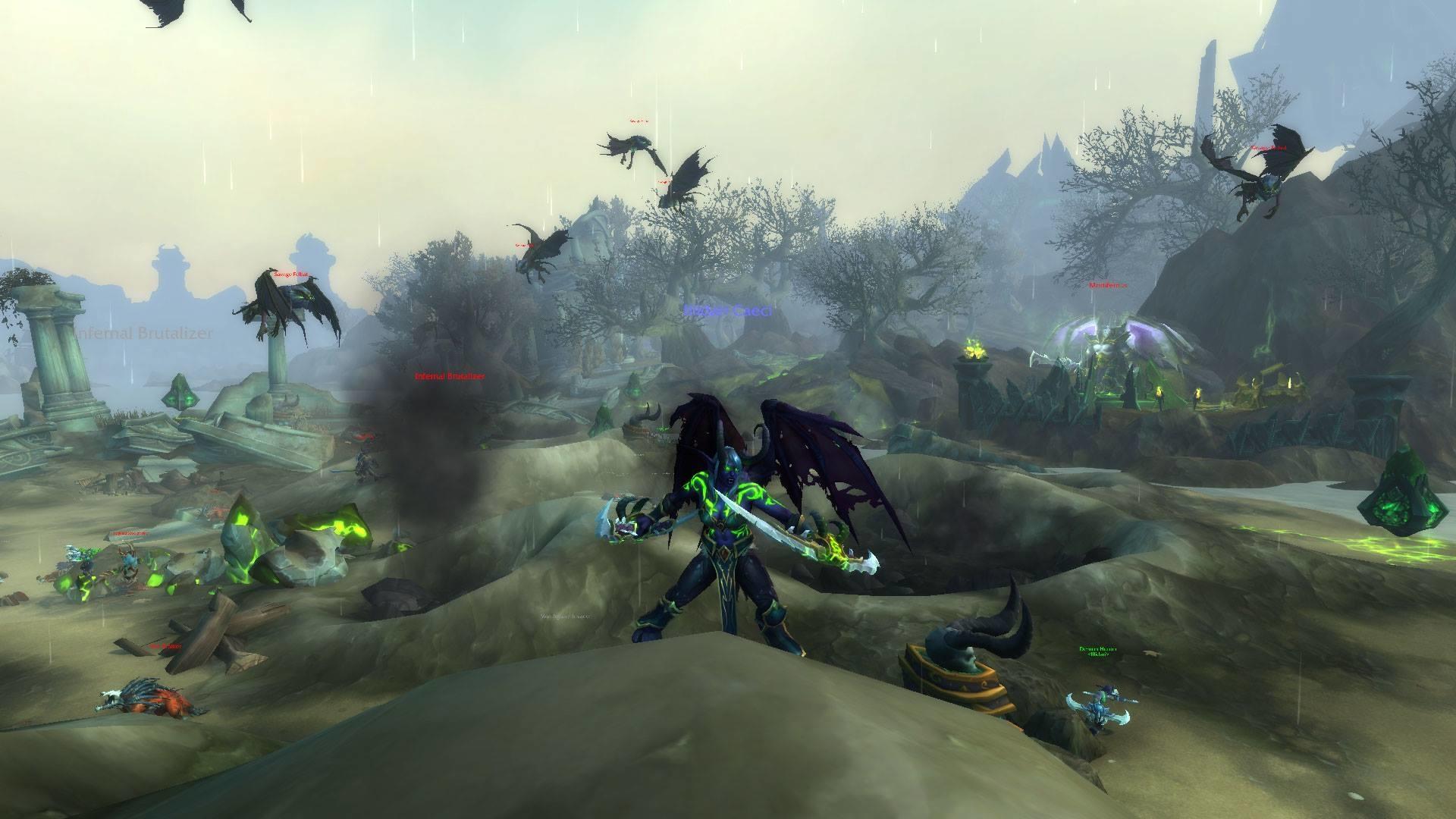 World Of Warcraft Legion Beta Preview Havoc Demon Hunter Neoseeker