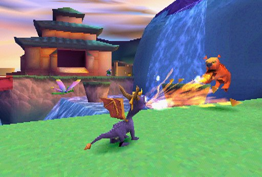 Image result for spyro year of the dragon screenshot