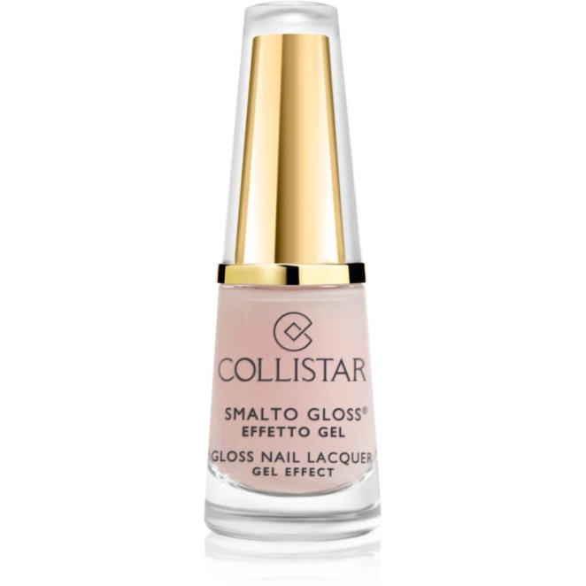 Collistar Gloss Nail Lacquer Gel Effect lak na nehty odstín 511 Romantic Rose 6 ml