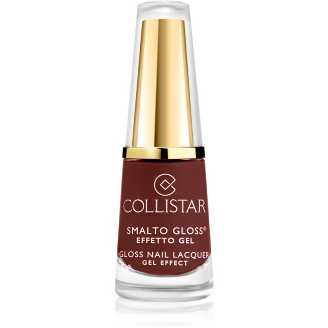 Collistar Gloss Nail Lacquer Gel Effect lak na nehty odstín 583 Ruby Red 6 ml