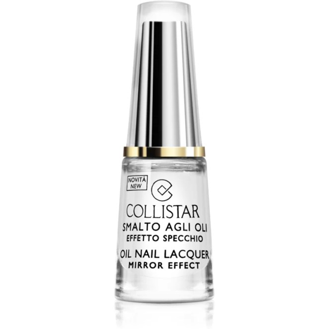 Collistar Oil Nail Lacquer lak na nehty s olejem odstín 301 Cristallo Puro 6 ml
