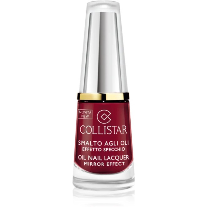 Collistar Oil Nail Lacquer lak na nehty s olejem odstín 322 Rosso Lacca 6 ml