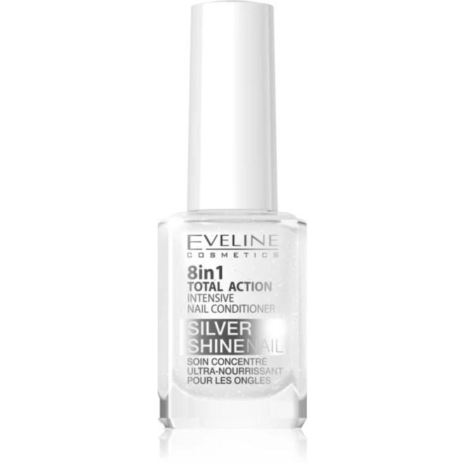 Eveline Cosmetics Nail Therapy Professional kondicionér na nehty se třpytkami 12 ml