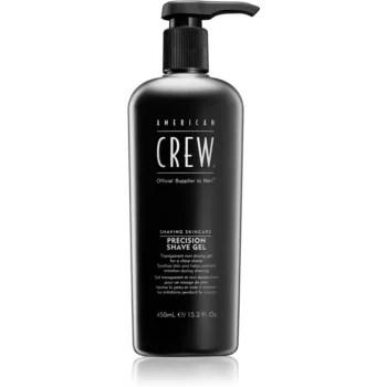 American Crew Shave & Beard Precision Shave Gel gel pentru bărbierit pentru piele sensibila