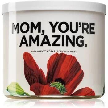 Bath & Body Works Watermelon Lemonade lumânare parfumată (Mom, you're amazing)