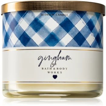 Bath & Body Works Gingham lumânare parfumată