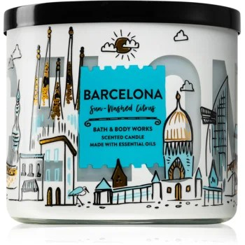 Bath & Body Works Sun-Washed Citrus lumânare parfumată II. (Barcelona)