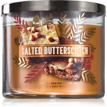 Bath & Body Works Salted Butterscotch lumânare parfumată