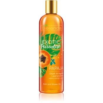 Bielenda Exotic Paradise Papaya Ulei gel de duș și baie