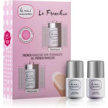 Le Mini Macaron Le Frenchie set cosmetice (pentru manichiura frantuzeasca) pentru femei