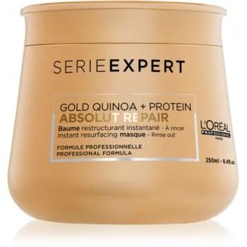 L'Oréal Professionnel Serie Expert Absolut Repair Gold Quinoa + Protein Masca regeneratoare pentru par foarte deteriorat