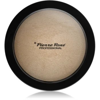 Pierre René Face Highlighting Powder Pudra compacta ce ofera luminozitate