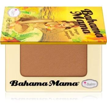 theBalm Bahama Mama bronzer, fard de ochi si pudra pentru contur intr-unul singur