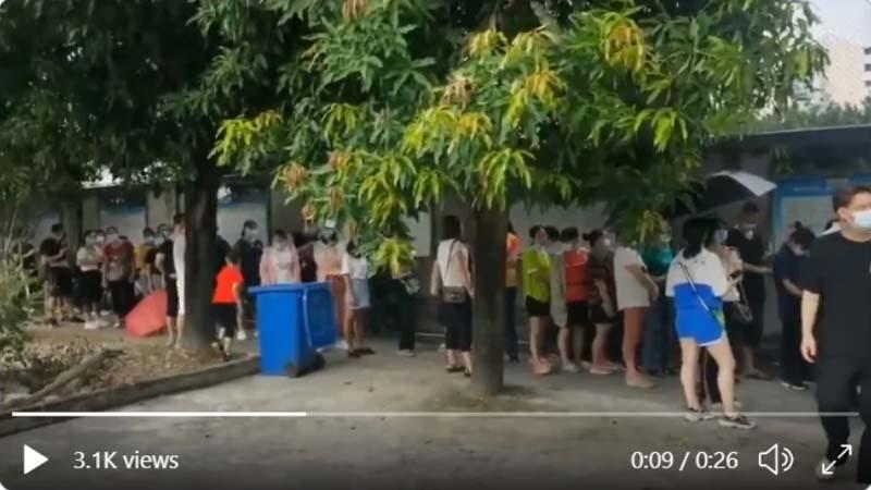 福建又爆疫情 福州宣布進入戰時狀態(視頻)   大連疫情   無癥狀感染者   疫情爆發   新唐人中文電視臺在線