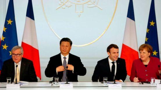 法国媒体:北京开足马力,将欧洲推入美军| International News 一带一路笨拙而傲慢的中共| 中欧投资协定