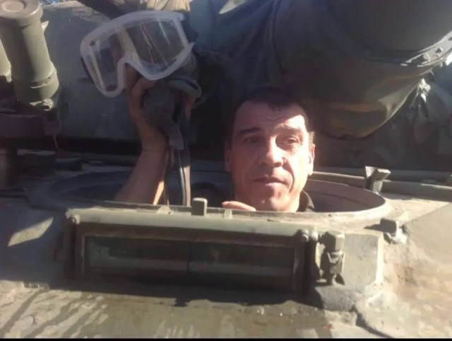Ветеран АТО Виктор Симончук, которого жестоко избили в Киеве