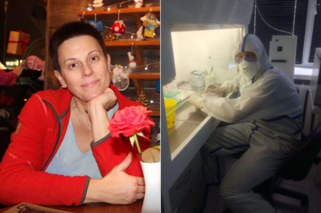 Валентина и ее сын – вирусолог