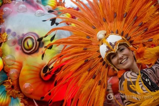 В Рио-де-Жанейро начался знаменитый бразильский карнавал ...