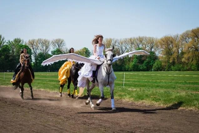 Конный праздник в Дибровке: впечатляющие фото с народного ...